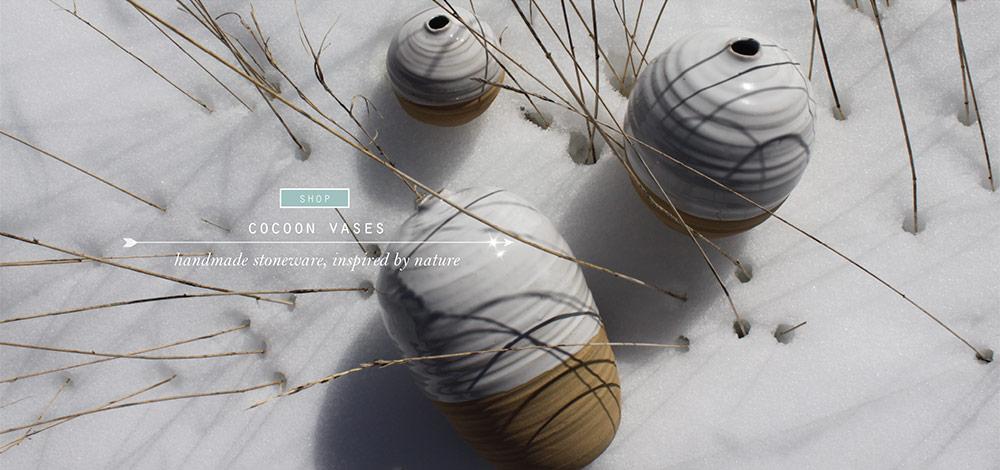 cocoon vases